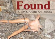 Found: Fiction & Poetry Anthology (headless Barbie doll in rubble)