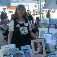 Jo-Anne Rosen with book display